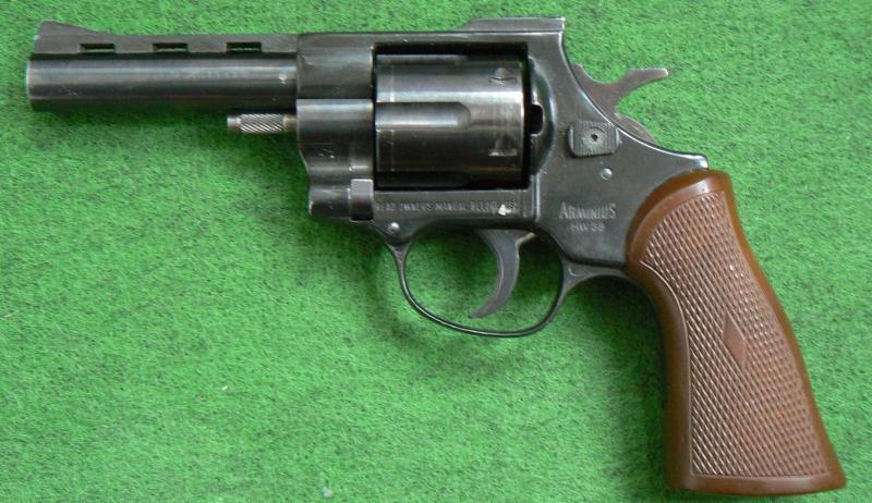 Arminius HW-38 - Krátké - Použité zbraně - Řehák a Řehák - vše pro