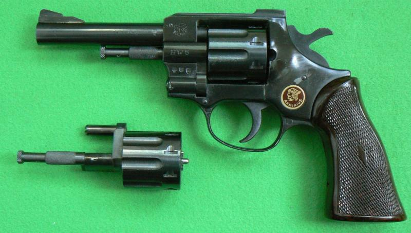 Arminius HW-5- 22LR/ 22WMR - Krátké - Použité zbraně - Řehák
